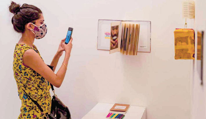 Art exhibition 'Futures beyond the Self' at Kala Kendra