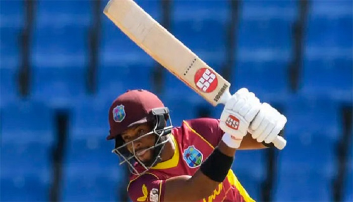 Hope century leads Windies to victory as Gunathilaka out obstructing field