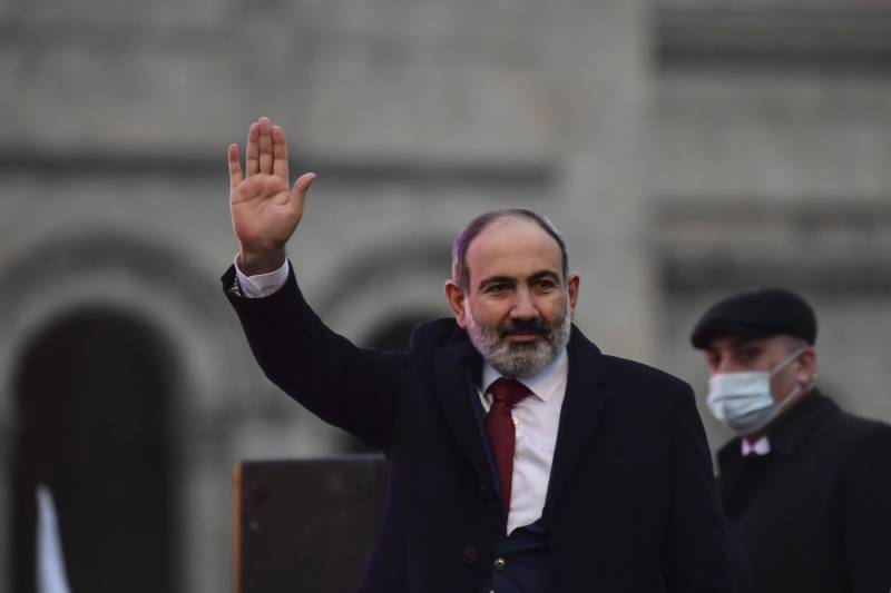 Armenia's embattled PM appoints new chief of military