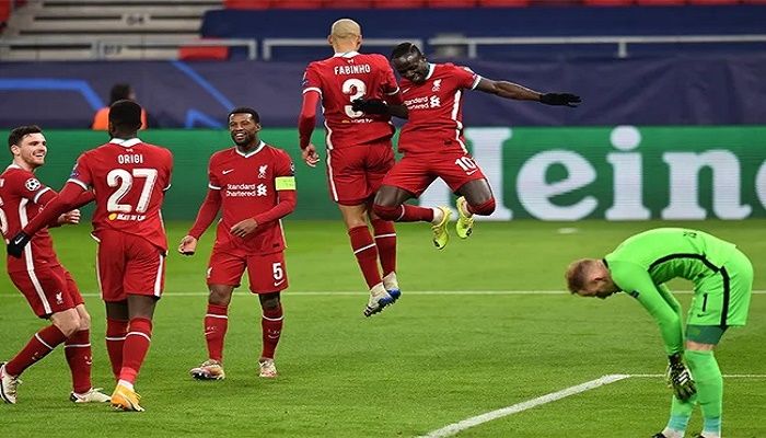Liverpool ease past RB Leipzig into Champions League last eight
