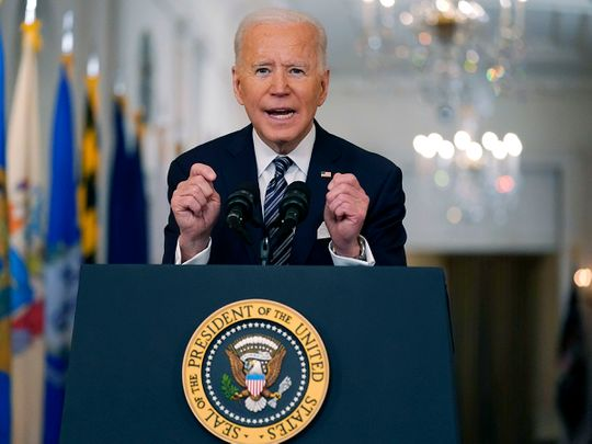 Covid pandemic: Biden eyes 4 July as 'Independence Day' from virus