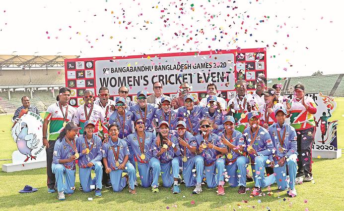 Bangabandhu Bangladesh Games: Blue earn gold medal