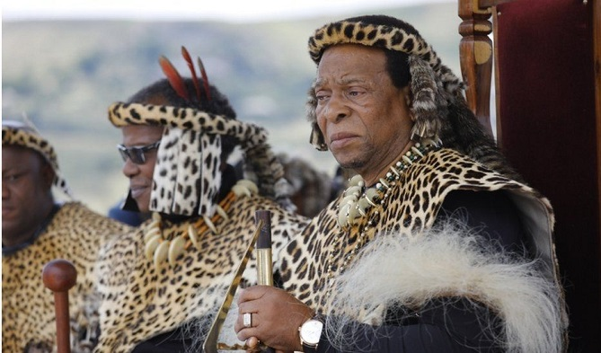Zulu King Goodwill Zwelithini dies in South Africa aged 72
