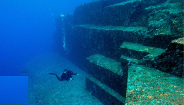 Japans mysterious underwater city