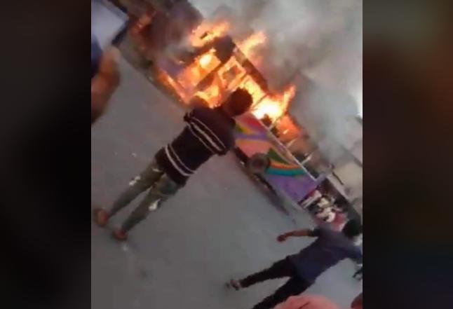 Case filed over Cumilla bus fire