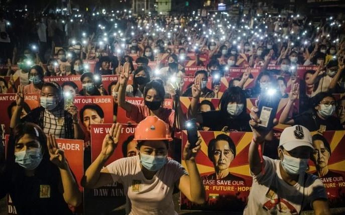 4 killed as Myanmar forces continue crackdown on protesters