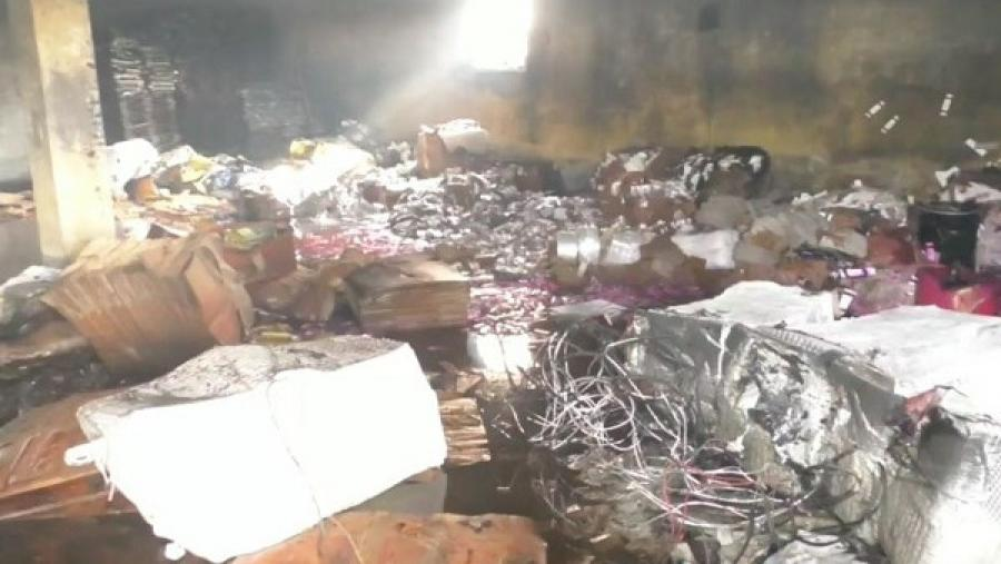 Worker burnt to death in Bogura mosquito coil factory fire
