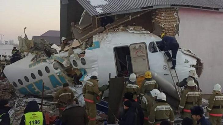 Four killed in Kazakhstan military plane crash: official