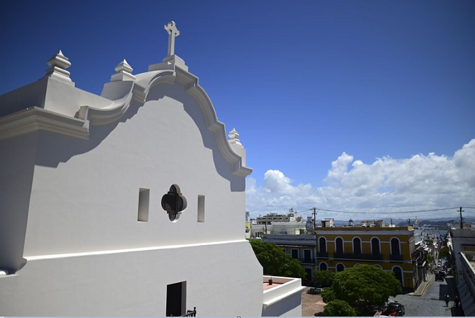 Puerto Rico to reopen historic church after long restoration