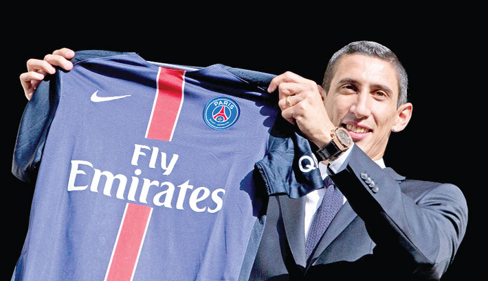 Di Maria signs PSG contract extension