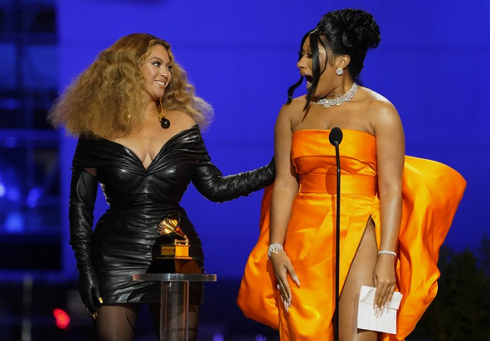 Partial list of winners at the 63rd Grammy Awards