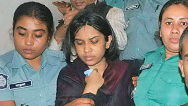 Murdering parents: Appeal challenging Oishee's life term rejected