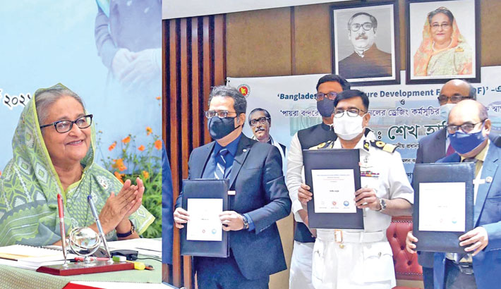PM launches Bangladesh Infra Development Fund