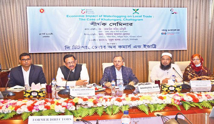 Coordinated efforts must to address waterlogging in Chaktai-Khatunganj