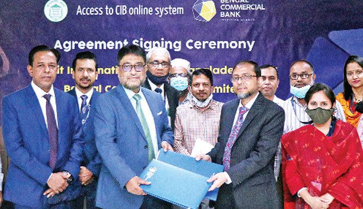 Bengal Commercial Bank, BB ink deal