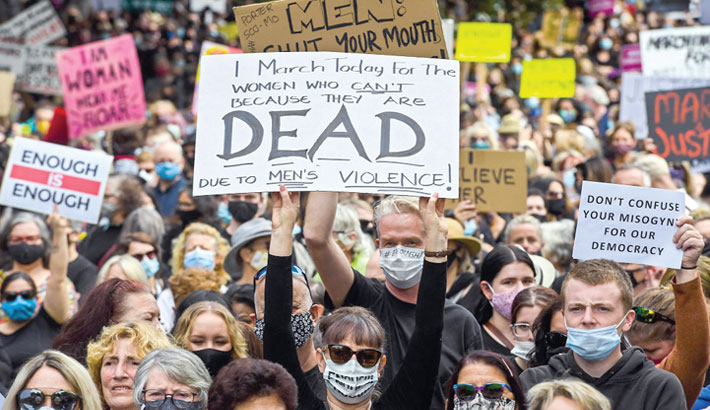 Women march across Australia against sexual violence, inequality