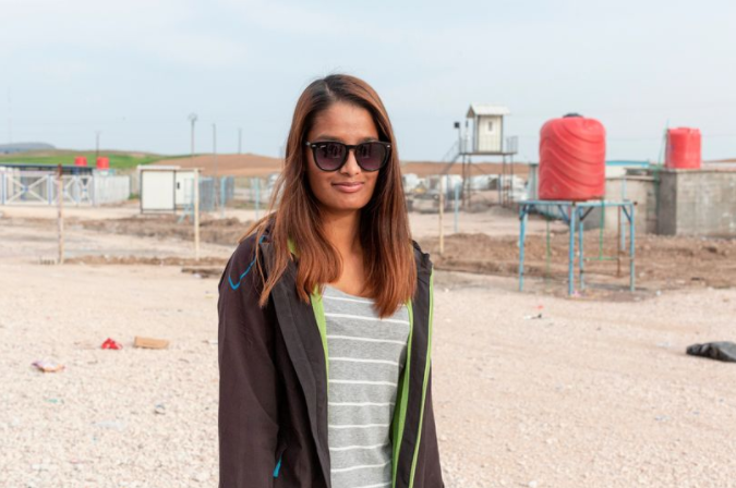ISIS bride Shamima Begum's makeover as she's pictured in shades and Western clothes
