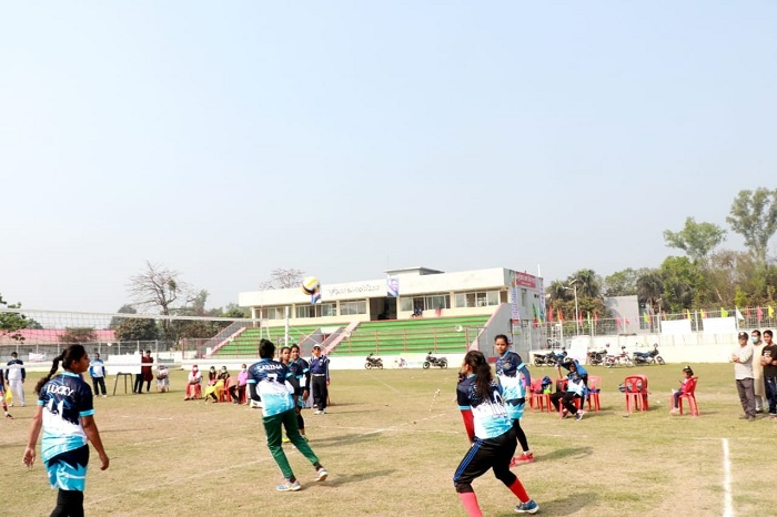 Rajshahi emerge champs in Bangabandhu inter district women volleyball