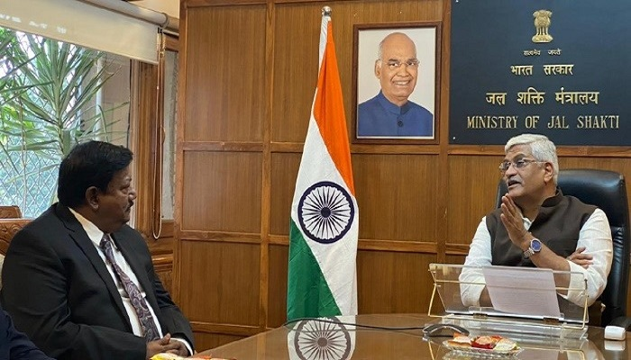 Water Resources Secretary of Bangladesh and India meet in New Delhi