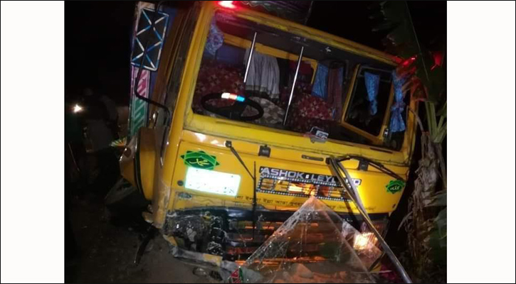 Two killed in Barguna road accident