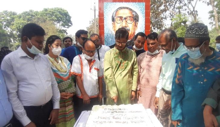 Bangabandhu's birthday celebrated at Bangamata University