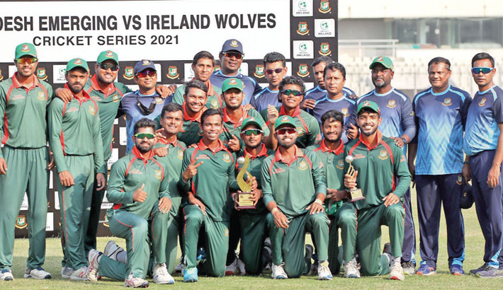 Emerging Team also win T20 series