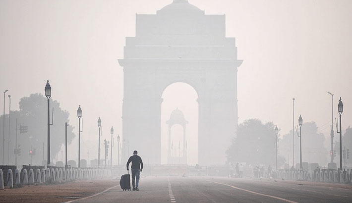 New Delhi world's most polluted capital for 3rd straight year