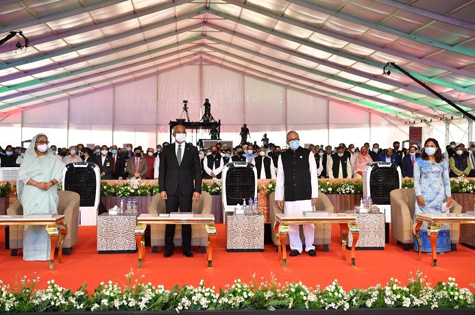 Bangabandhu birth centenary celebration inaugurated