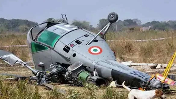 MiG-21 crashes in central India, pilot killed, says Indian Air Force
