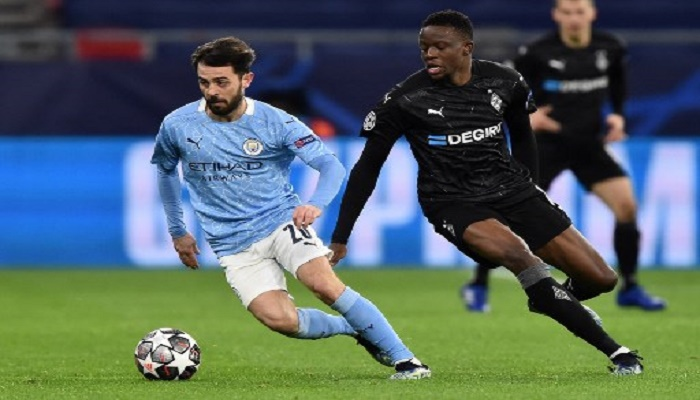 Man City cruise into Champions League quarter-finals