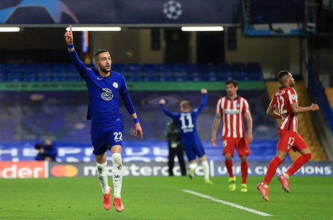 Chelsea cruise into Champions League quarters as Ziyech sinks Atletico