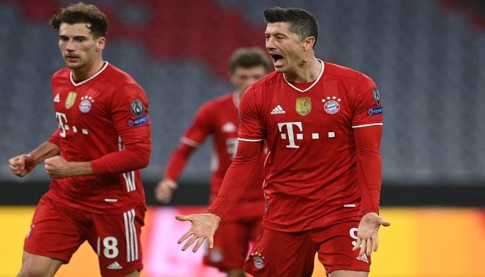 Bayern down Lazio to stroll into Champions League quarter-finals