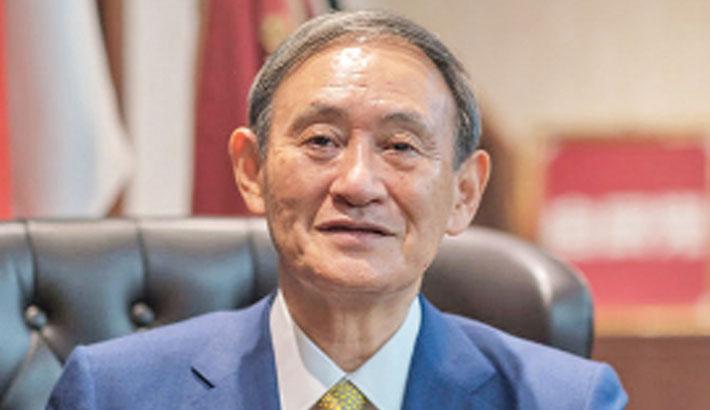 Bangabandhu strengthened ties with Japan: Suga