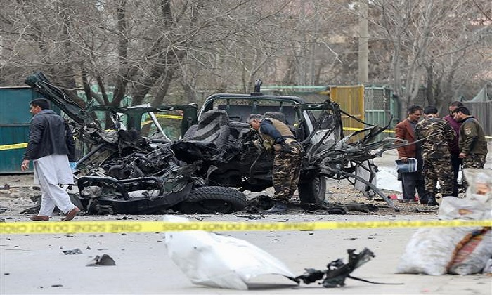 3 civilians killed, 11 injured in Kabul blast targeted at bus with government employees