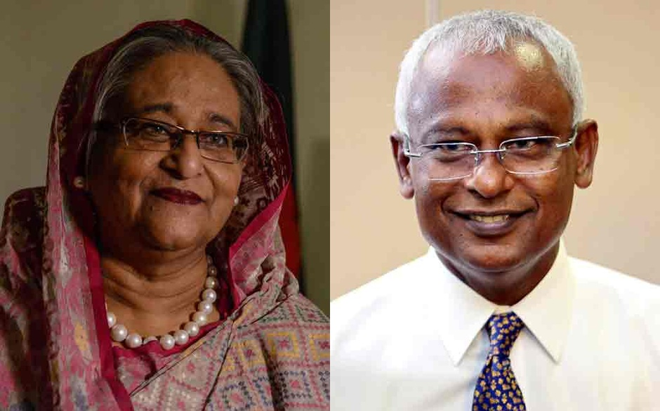 Hasina-Solih bilateral meeting today