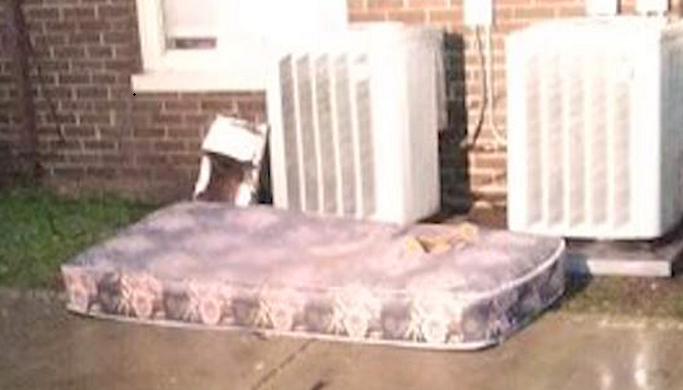 Girl, 8, throws mattress from burning home, jumps to safety