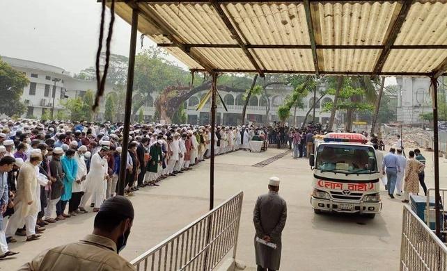 Moudud Ahmed's namaj-e-janaza held on SC premises