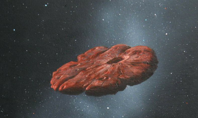 No cigar: Interstellar object is cookie-shaped planet shard