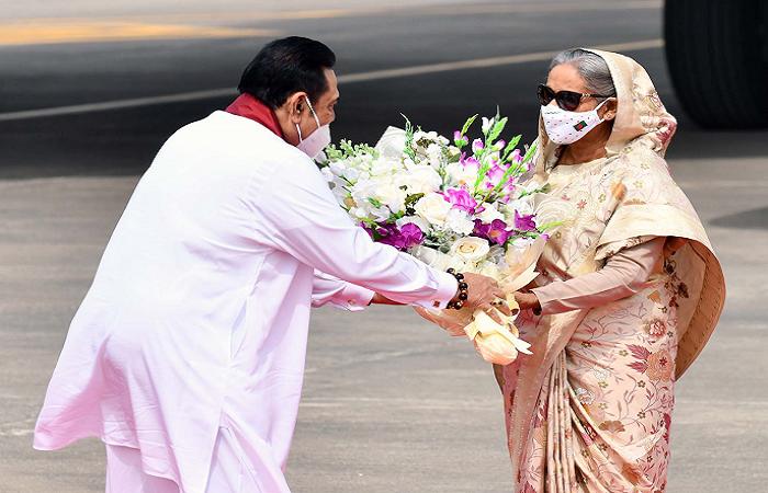 Despite setbacks, Bangladesh continues to flourish under Hasina's leadership: Rajapaksa