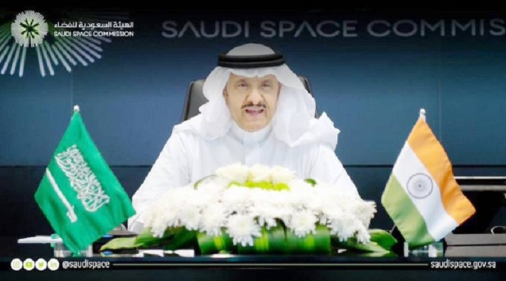 Saudi Space Commission discusses fields of cooperation with its Indian counterpart