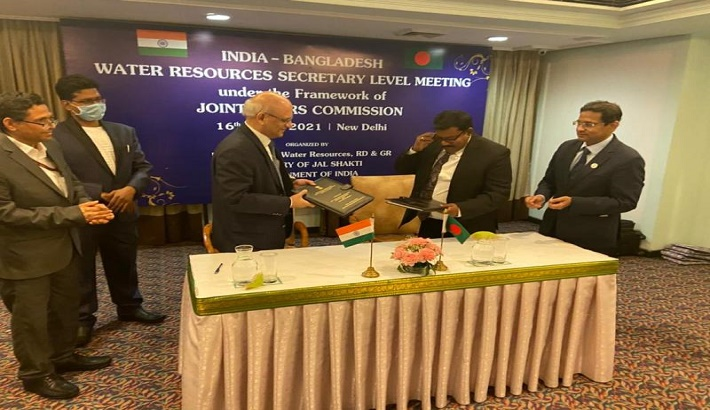 India-Bangladesh secretary level meeting: Both sides agree to expand cooperation in all water resources related issues