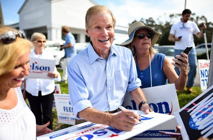 Former astronaut and senator Bill Nelson nominated as Nasa chief