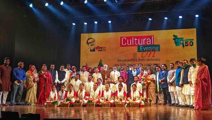 Bangladesh-Indian dance show pays tribute to Bangabandhu