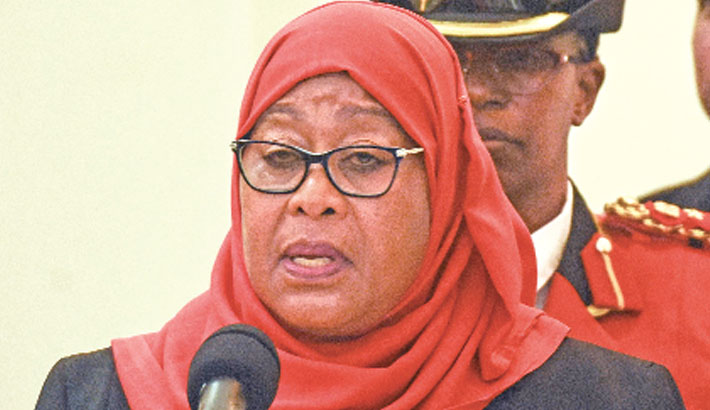 Tanzania gets first female president