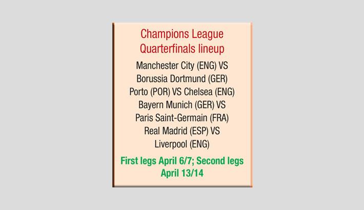 Bayern meet PSG; Real face Liverpool