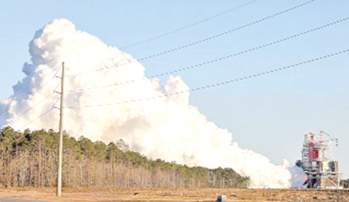 Successful test for world's most powerful rocket