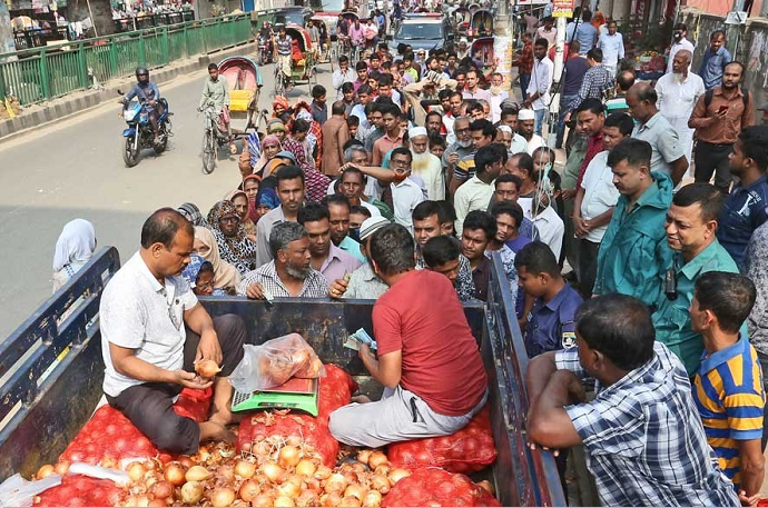 TCB starts selling commodities marking birth centenary celebration of Bangabandhu