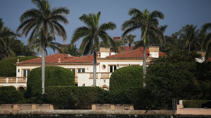 'Covid outbreak' at Trump's Florida residence