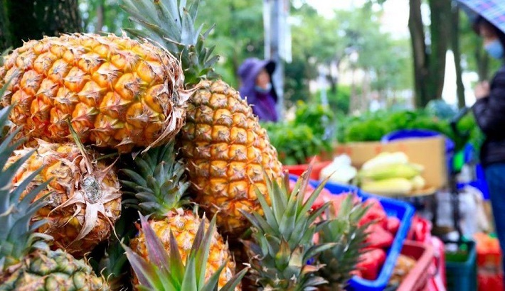 China and Taiwan face off in pineapple war
