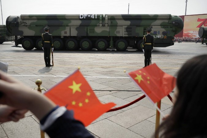 China is building more underground silos for its ballistic missiles